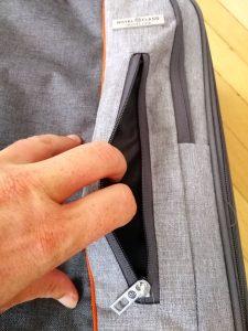 Tasche vorne Koffer