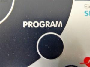Einstellmöglichkeit der Trainingsprogramme