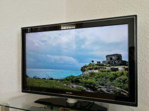 Fernseher mit hochauflösendem Bild