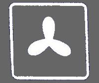Umluft-Funktion Symbol