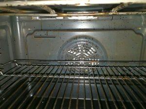 Gebläse für Umluft und Heißluft im Ofen