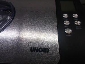 Eine Kompressor-Eismaschine von Unold