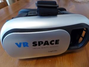 VR-Brille zum Anschauen von 180-Grad Videos