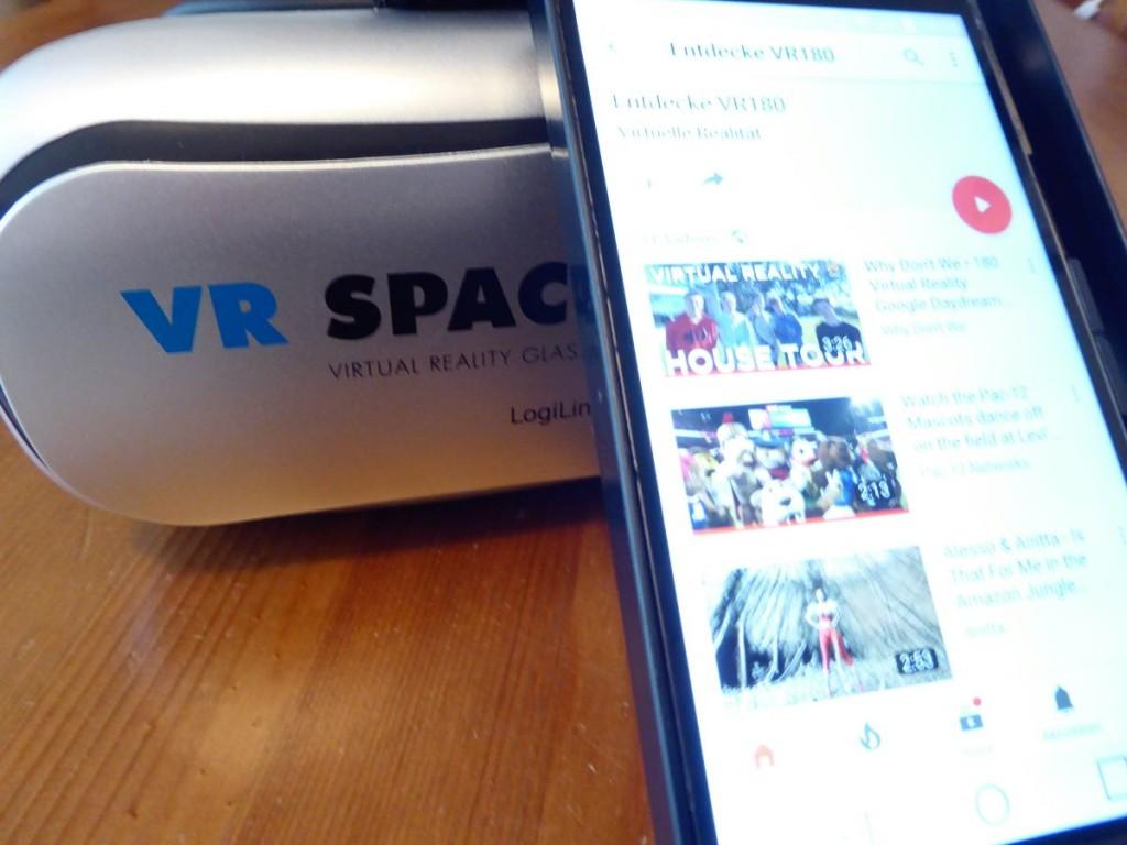 VR180 Videos für VR-Brille & Smartphone