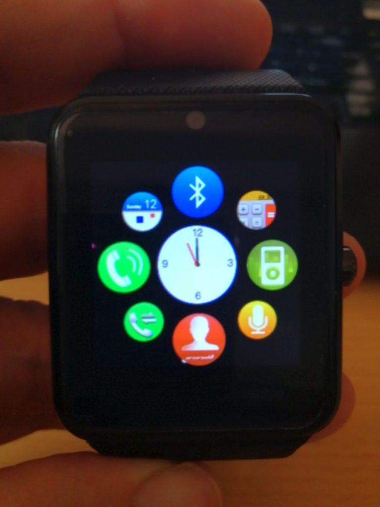 Yamay Smartwatch Menü