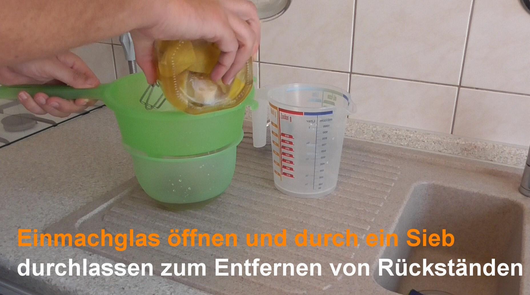 Einmachglas offnen - Apfelmus einkochen in schraubglaser ...