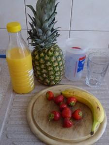 Mögliche Obstsorten für den Entsafter